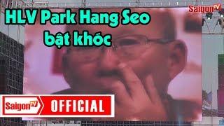 HLV Park Hang Seo bật khóc khi xem màn biểu diễn này - SAIGONTV