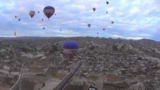 Balloon Tour in Cappadocia Turkey 2014 / 벌룬투어 -터키