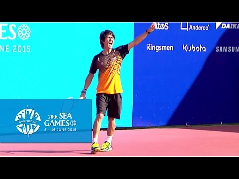 Tennis Men's Team Quarter-Final Match 1 (Day 2) | 28th SEA Games Singapore 2015