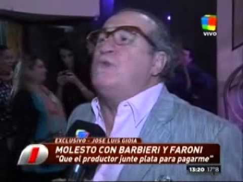 "José Luis Gioia, picante contra Carmen Barbieri: ""Me decepcionó"""