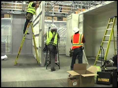 Dirtt Wall Installation Time Lapse Youtube