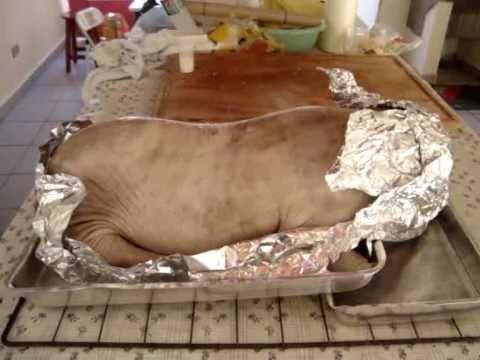 Como assar leitão no forno