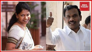 Breaking News | A Raja And Kanimozhi Found Not Guilty In 2G Scam; Scenes Of Jubilation Outside Court