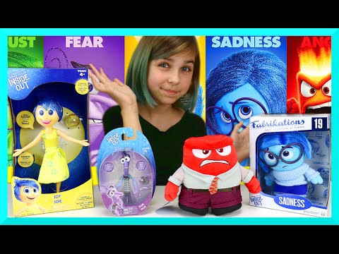 Disney Pixar Inside Out Mix Review - Joy. Fear. Anger. Sadness Plush and Toys