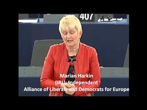 Irish MEP's in plenary about shale gas - November 2012