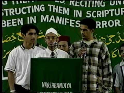Arabic Qasida-1 2- Shaykh Fakharuddin Owaisi Al-madani video