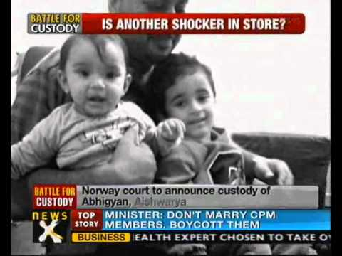 Norway Court to decide fate of NRI kids in custody row - NewsX