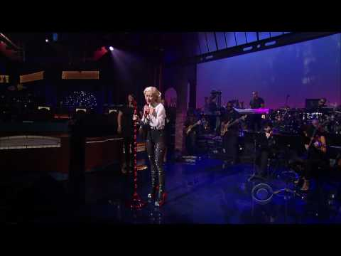"(HQ) Christina Aguilera - ""You Lost Me"" 6/9 Letterman (TheAudioPerv.com)"