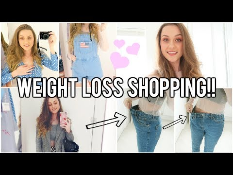 WEIGHT LOSS CLOTHES SHOPPING!!