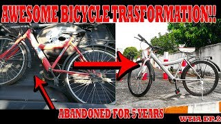 I GAVE THE ABANDONED OLD BICYCLE A NEW MEANING????(WTIA) EP.2