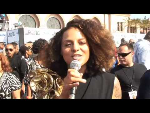 Marsha Ambrosius at the BET Awards 2010 Music Videos