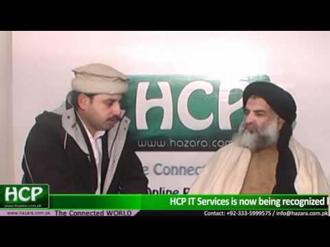 Pir AlamZeb Shah Chief Editor Daily Akhbar Abbottabad- Interview with Regional Newspaper