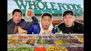 THE BEST FOOD FROM THE WHOLE FOODS HOT BAR | Fung Bros