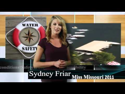 Miss Missouri 2011 Sydney Friar Water Safety PSA