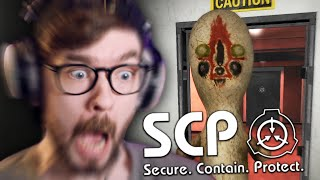 THIS TIME I'M NOT SCARED (very scared) | SCP Containment Breach #3