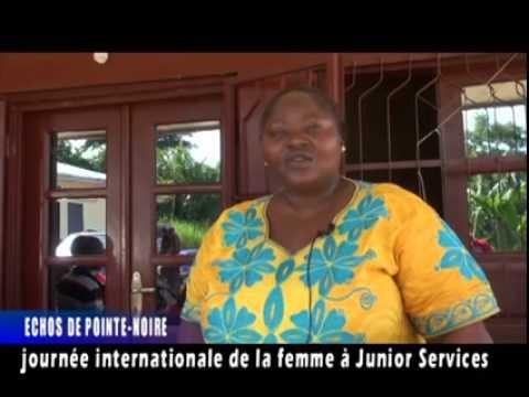 PERRIN INFOS. Echos de Pointe-Noire: Journée internationale de la Femme à Junior Services