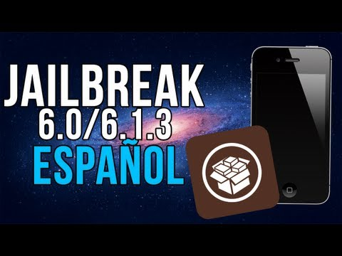 Jailbreak TETHERED 5.0 / 6.0 / 6.1.3 / 6.1.5 iPhone 3gs. 4 & iPod Touch 4. 3 (FÁCIL)   Español