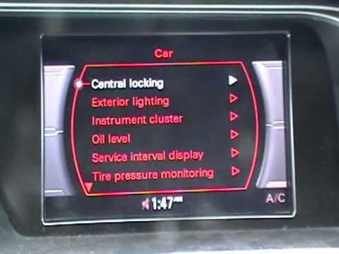 Audi A4 Tyre Pressure >> How to Reset the TPMS Tire Pressure Monitoring System on 2010 Audi A4 - YouTube