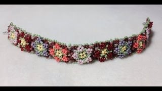 (Tutorial) Garden Of Love Bracelet PART 1 (Video 44)