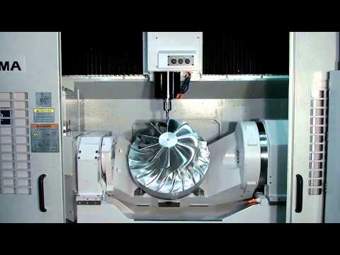 Okuma's 5-Axis Vertical Machining Center, MU-500VA