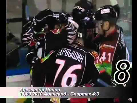 TOP-15. 15 Best Goals of Avangard in a Season 2010-2011