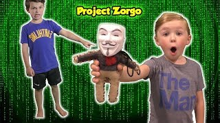 Project Zorgo Hacker Voodoo Doll helps us find the Mystery Code to the Abandoned Safe