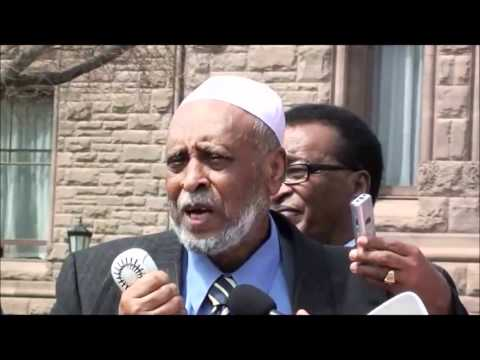 bilal tube - Toronto: Chrisitian & Muslim Ethiopians Stood Together in Defense of Waldiba