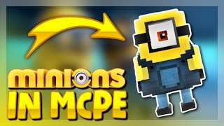 MINIONS IN MCPE 1.1 - Minecraft PE 1.1 ADDON ( Minecraft Pocket Edition )
