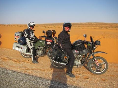 Brzeg Dakar Romet ADV 150 relacja z wyprawy
