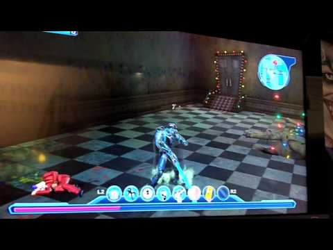 DC Universe Online gameplay demo