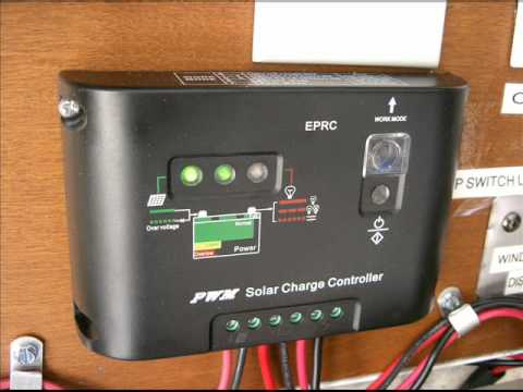 Bedroom solar emergency general lighting Movie pt.1 .wmv