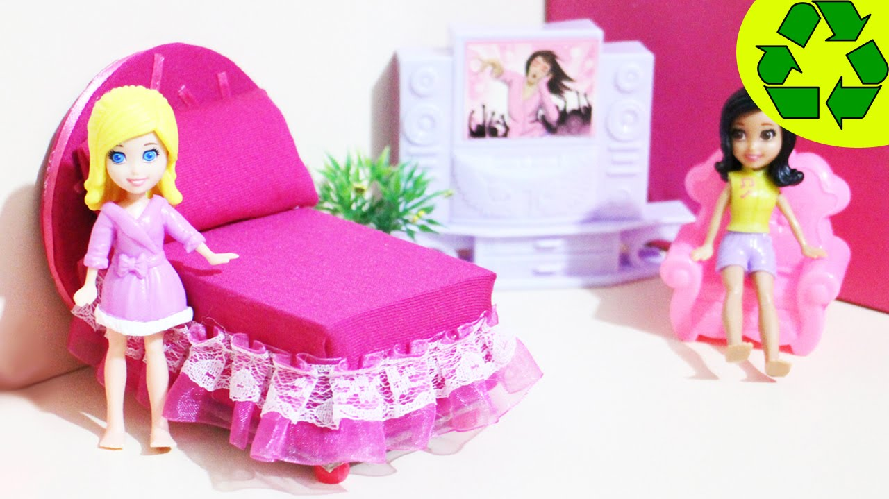 How To Make A Bed For A Mini Doll