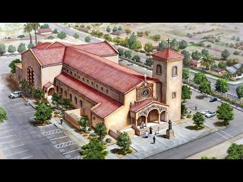 A New Church Building Project - Our Lady of Sorrows, Phoenix, AZ