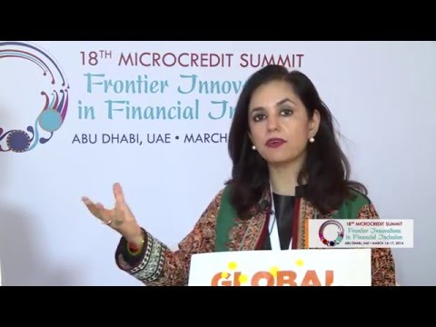 Global Money Week at the 18th Microcredit Summit with Roshaneh Zafar