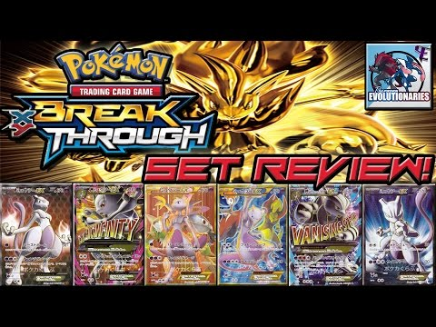 Pokemon Cards BREAKThrough/Red Flash/Blue Shock TCG Set Review with 8-Bit bboc!