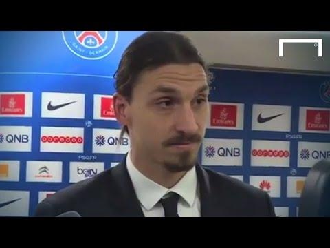 Ibrahimović gives journalist a hard time