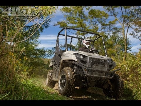 2014 Polaris Ranger 570 First Ride - 4WheelDirt