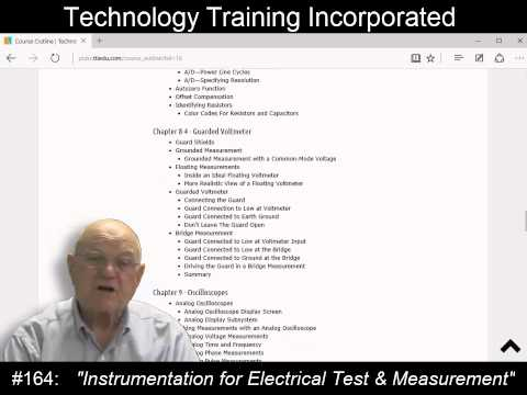 Instrumentation for Electrical Test and Measurement