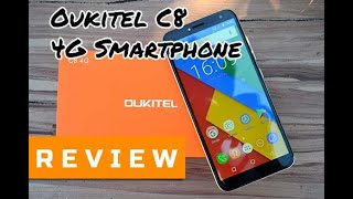 [Review] Oukitel C8 4G Smartphone