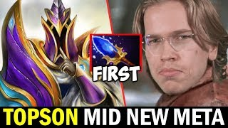 TOPSON Mid Silencer — New Scepter First Core Item New Meta? Dota2