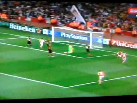 Arsenal Primer gol de Alexis Sanchez