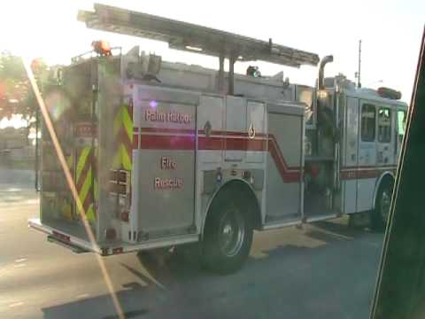 PALM HARBOR FLORIDA FIRE DEPT. PARAMEDIC 65
