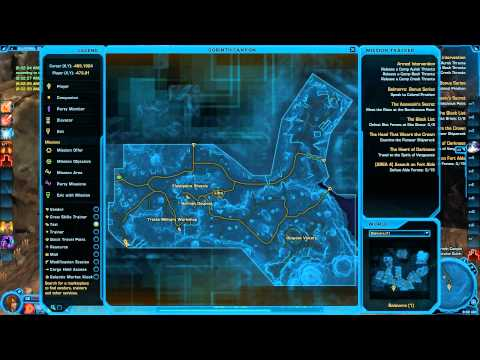 SWTOR Datacrons of Balmorra Empire A Guide by Degren of Friends and Pals HD