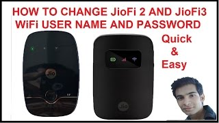 JioFi 2 Jiofi 3 How to change Password Of Router | Reliance Jio Change Default Username and Password