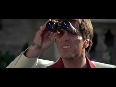 Scarface - Helicopter Hanging Scene Hd video
