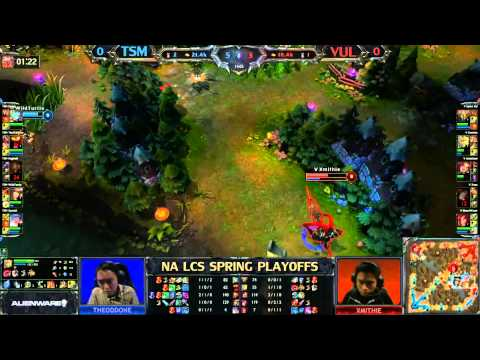 TSM vs VUL NA spring playoffs D2 game 1