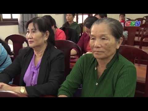 Hội LHPN quận Bình Thủy ra mắt mô hình phụ nữ hạn chế sử dụng túi ni lông