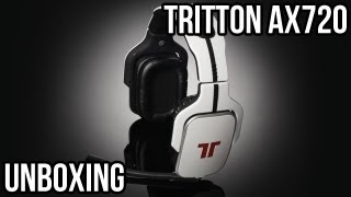 Tritton Ax720 Headset Unboxing Video