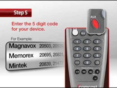 HOW TO PROGRAM YOUR XFINITY CUSTOM 3 UNIVERSAL REMOTE CONTROL