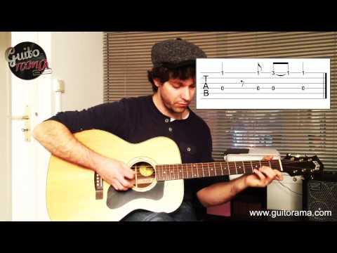 Tuto Guitare Pop-Rock PRAYER IN C Cours De Guitare En Picking (jeu Au Doigts)